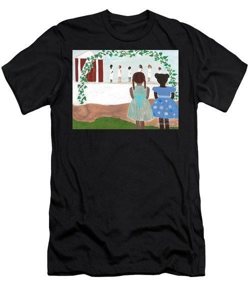 Ceremony In Sisterhood Men's T-Shirt (Athletic Fit)