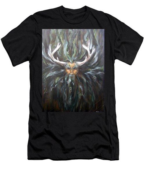 Cernunnos Men's T-Shirt (Athletic Fit)
