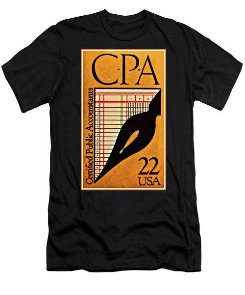 Certified Public Accounting Issue Men's T-Shirt (Athletic Fit)