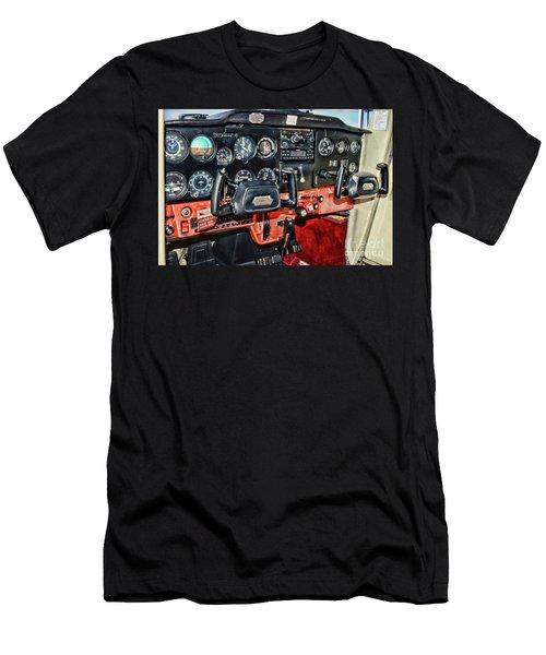 Cessna Cockpit Men's T-Shirt (Athletic Fit)
