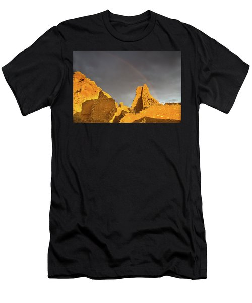Chaco Canyon Rainbow Men's T-Shirt (Athletic Fit)