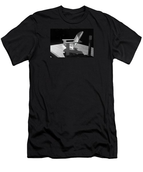Chair In Black And White Men's T-Shirt (Athletic Fit)