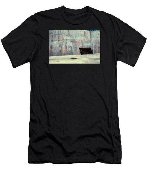 Chalk N Bench Men's T-Shirt (Athletic Fit)