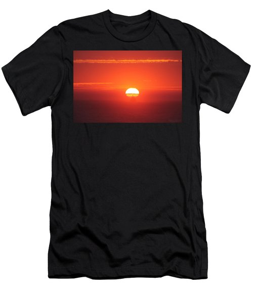 Challenging The Sun Men's T-Shirt (Athletic Fit)