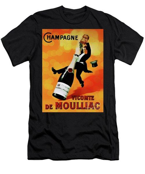 Champagne Celebration Men's T-Shirt (Athletic Fit)