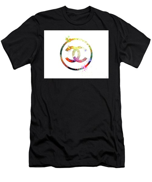 Chanel Logo Men's T-Shirt (Athletic Fit)