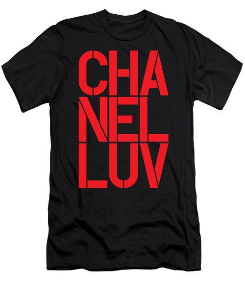 Chanel Luv-3 Men's T-Shirt (Athletic Fit)