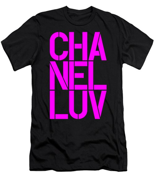 Chanel Luv-4 Men's T-Shirt (Athletic Fit)