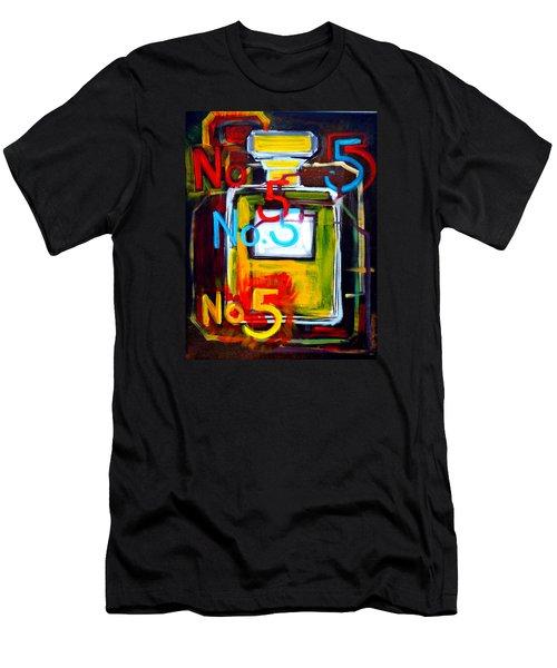 Chanel No. 5 Men's T-Shirt (Athletic Fit)