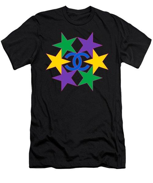 Chanel Stars-16 Men's T-Shirt (Athletic Fit)