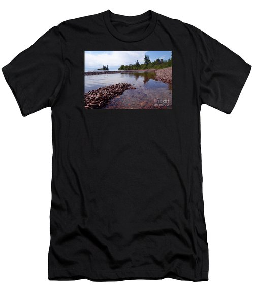 Men's T-Shirt (Slim Fit) featuring the photograph Changing Channels by Sandra Updyke