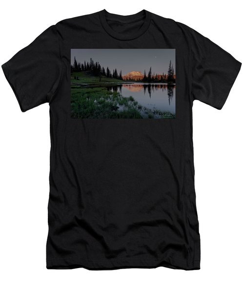 Men's T-Shirt (Athletic Fit) featuring the photograph Changing Lights by Gene Garnace
