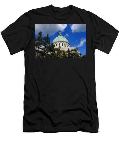 Chapel - Us Naval Academy 3 Men's T-Shirt (Athletic Fit)