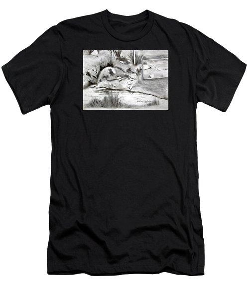 Pat's Field Men's T-Shirt (Athletic Fit)