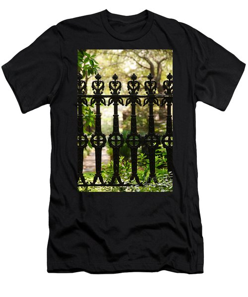 Charleston Fence Men's T-Shirt (Athletic Fit)