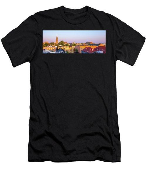 Charleston Glows Men's T-Shirt (Athletic Fit)