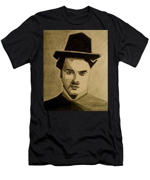 Charlie Chapplin Men's T-Shirt (Athletic Fit)