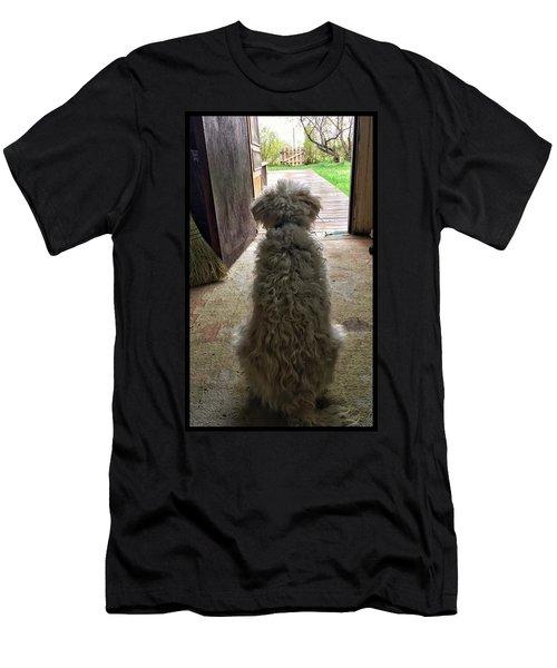 Charlie Dog Men's T-Shirt (Athletic Fit)