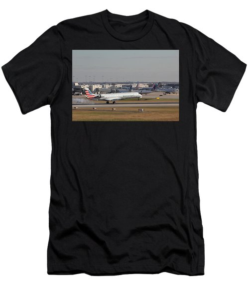 Charlotte Douglas International Airport 20 Men's T-Shirt (Athletic Fit)