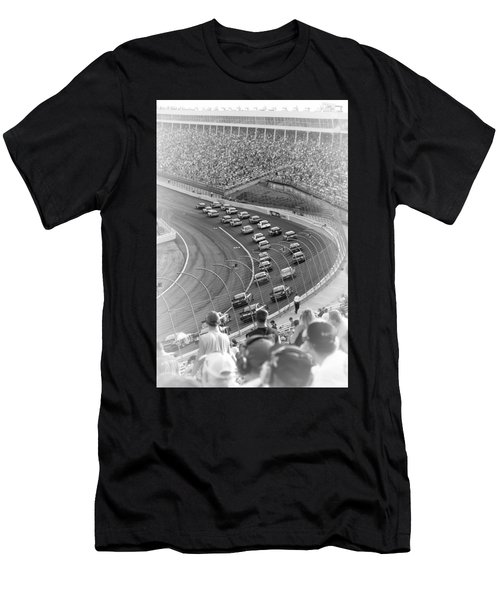 A Day At The Racetrack Men's T-Shirt (Athletic Fit)