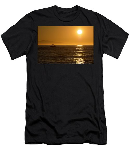 Charm Of A Sunset Men's T-Shirt (Athletic Fit)