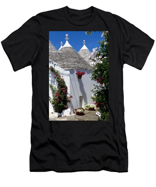 Charming Trulli Men's T-Shirt (Athletic Fit)