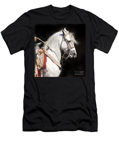 Charro Stallion Men's T-Shirt (Athletic Fit)