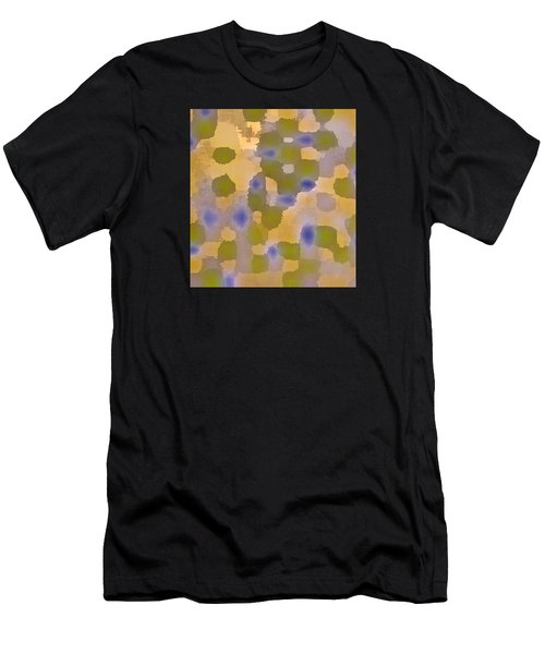 Chartreuse Two  By Rjfxx. Original Abstract Art Painting. Men's T-Shirt (Athletic Fit)