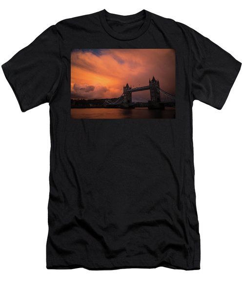 Chasing Clouds Men's T-Shirt (Athletic Fit)