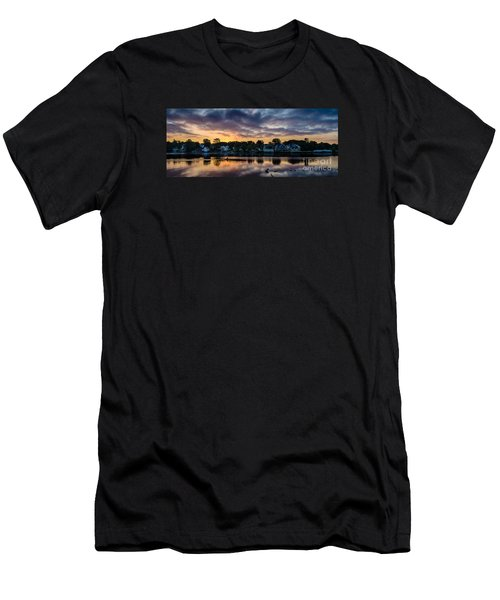 Chasing The Blues Away Men's T-Shirt (Athletic Fit)