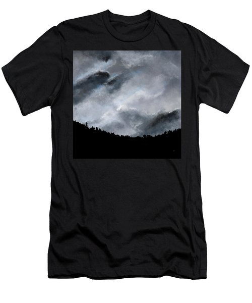 Chasing The Storm Men's T-Shirt (Athletic Fit)
