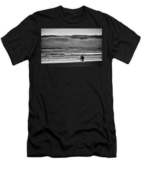 Chasing Tide And Light Men's T-Shirt (Athletic Fit)