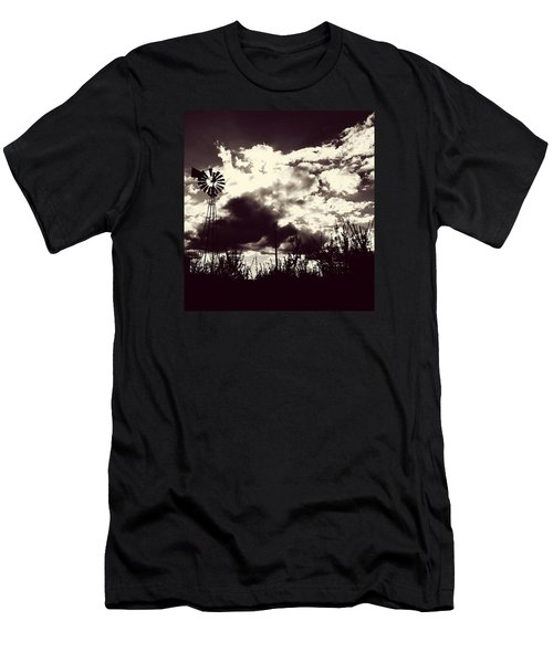 Chasing Windmills Men's T-Shirt (Athletic Fit)