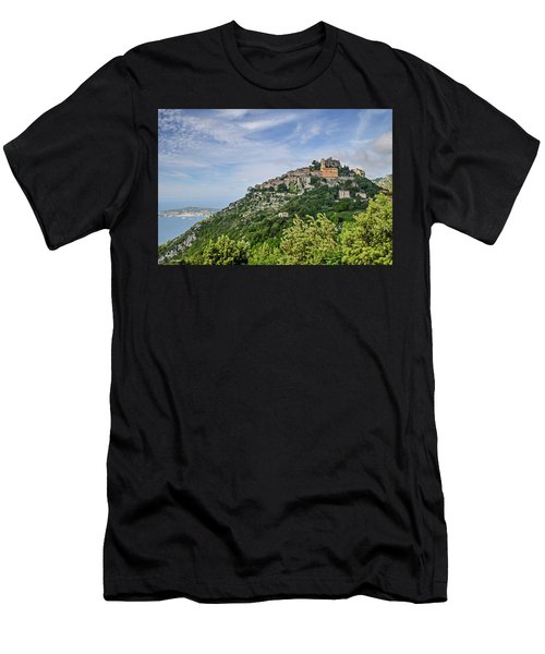 Chateau D'eze On The Road To Monaco Men's T-Shirt (Athletic Fit)