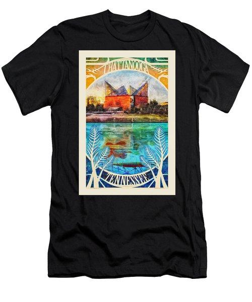 Chattanooga Aquarium Poster Men's T-Shirt (Athletic Fit)