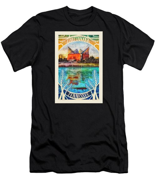 Chattanooga Aquarium Poster Men's T-Shirt (Athletic Fit)