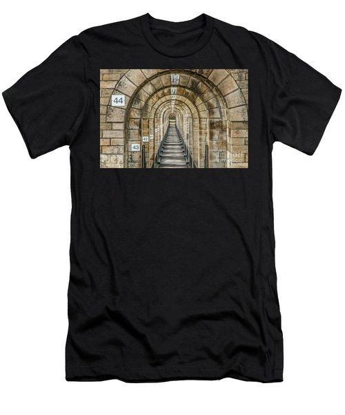 Chaumont Viaduct France Men's T-Shirt (Athletic Fit)