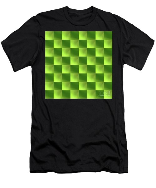 Checkerboard Men's T-Shirt (Athletic Fit)