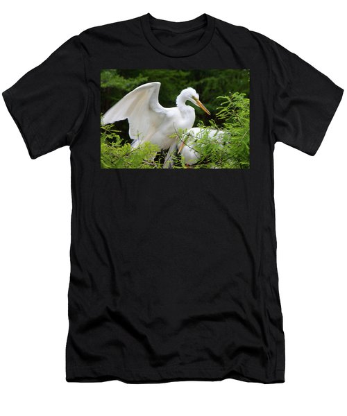 Checking-in Men's T-Shirt (Athletic Fit)