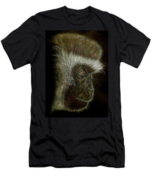 Cheeky Monkey Men's T-Shirt (Athletic Fit)