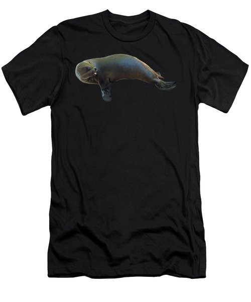Cheeky Seal Men's T-Shirt (Athletic Fit)