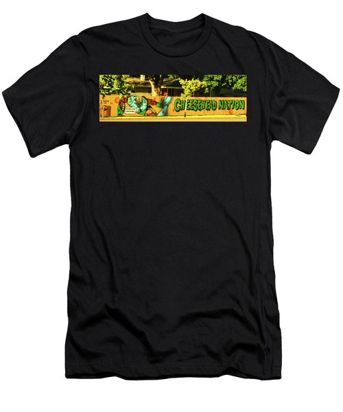 Cheesehead Nation 001 Men's T-Shirt (Athletic Fit)