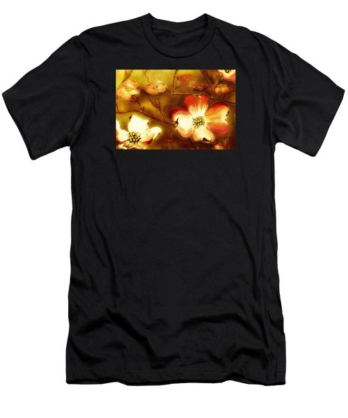 Cherokee Rose Dogwood - Glow Men's T-Shirt (Athletic Fit)