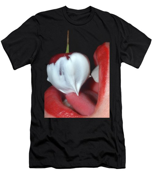 Cherries And Cream Men's T-Shirt (Athletic Fit)