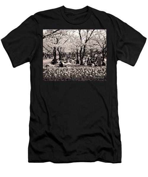 Cherry Blossom Festival Men's T-Shirt (Athletic Fit)