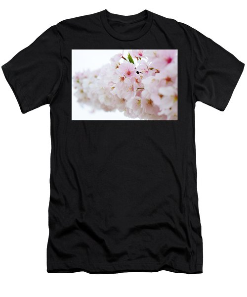 Cherry Blossom Focus Men's T-Shirt (Athletic Fit)