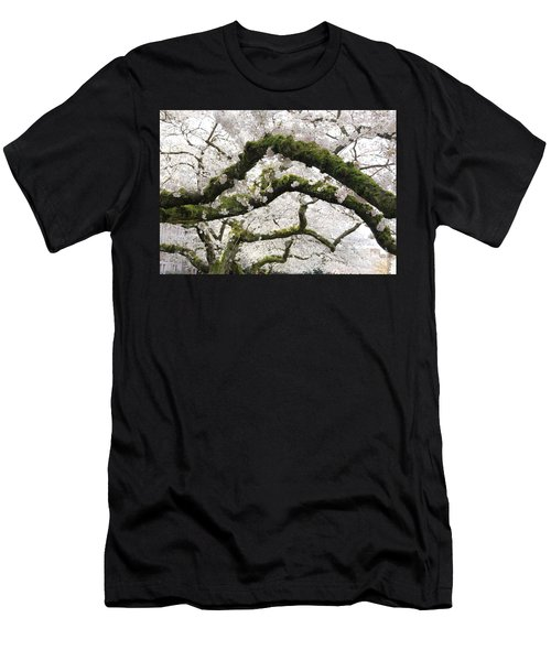 Men's T-Shirt (Athletic Fit) featuring the photograph Cherry Blossoms 104 by Peter Simmons