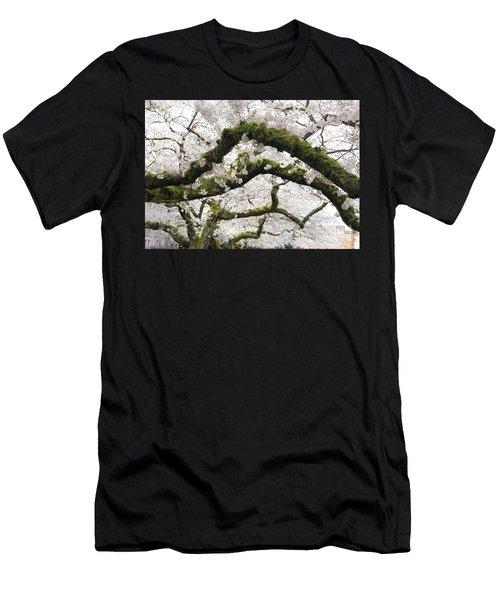 Cherry Blossoms 104 Men's T-Shirt (Athletic Fit)