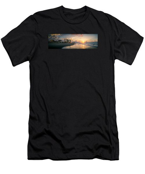 Cherry Grove Panoramic Sunrise Men's T-Shirt (Athletic Fit)