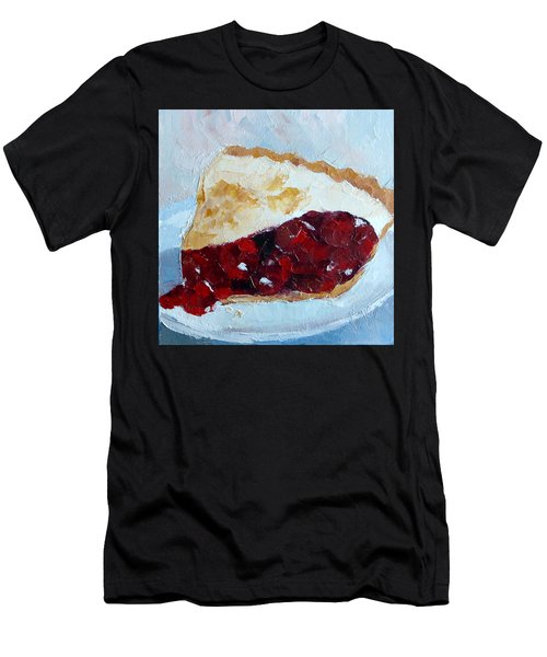 Cherry Pi Men's T-Shirt (Athletic Fit)